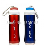 stainless steel double wall bottle - New Updated l New SAHOO Cycling Bike Bicycle Sports Double wall Stainless Steel Water Bottle ml Colors Color