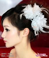 Asian Wigs apparel mix - Mix order Fascinator Wedding Apparel Bridal Accessories Tiaras Hair set Bridal flower A17