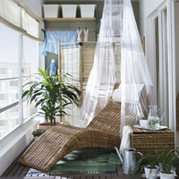 Wholesale Baby Mosquito Net Baby Toddler Bed Crib Canopy Netting White Mosquitera Bebes Beautiful High Quality IC673350