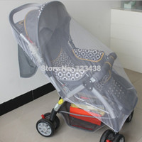 Wholesale Baby Large Size Cart Stroller Mosquito Net Buggy Pram Protector Pushchair Fly Midge Insect Bug Full Cover quot X43 quot