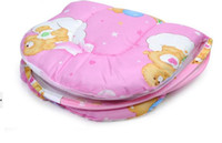 Wholesale 2 color Baby Mosquito Insect Net Tent Safty Cradle Bed amp Mattess amp Pillow