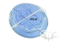 Wholesale Baby Bed Folding Mosquito Net Infant Portable Cotton padded Mattress Pillow Tent Baby Sleeping Net