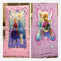 anna quilt - Snow Queen bedding set kids cartoon Elsa Anna princess print bedclothes Duvet cover bedsheet sets bed quilt linen