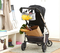 Wholesale Baby carriage hanging bag stroller clothes organizes outdoor mummy bag