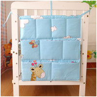 Wholesale Multiple use Baby Bed Hanging storage Bag Cotton x55cm Diaper bag