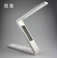 Wholesale Foldable Folding Touch Controlled Table Night Reading Light LED Desk Lamp Night Lights Table Lamps Study Lighting A124