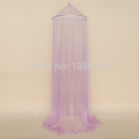 baby bedding decor - 1pcs Elegant Round Lace Insect Bed Canopy Netting Curtain Dome Mosquito Net New House Bedding Decor