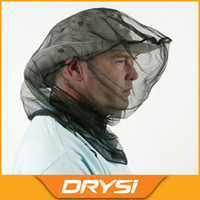 fly mask - Mosquito Bee fly Insect Mesh Head Net Outdoor Mosquito Net facial mask headgear for fishing camping hunting