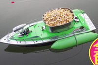 fish and - 5 HOUR T10 mini RC Bait Fishing Boat M rc ship baitboat remote control boat fish finder boat fishing green and red