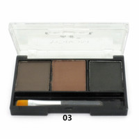 big brows - Big Sale Eye Brow Makeup Colour Eyebrow Powder Eye Shadow Palette Waterproof Brush