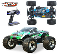 remote control car gas - HSP Rc Truck wd Nitro Gas Power Off Road Monster Truck Remote Control Car High Speed Hobby Remote Control Toys
