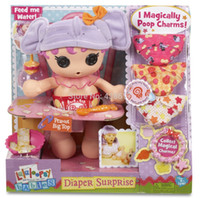 baby doll diapers - Original Bonecas Lalaloopsy Babies Diaper Surprise cm Peanut Big Top Doll Dolls Toys For Grils Gifts
