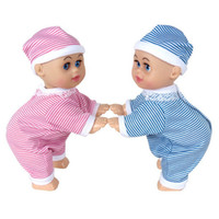baby boy sayings - Crawling Baby Doll Toy Laugh Music Say Mama Daddy and learn crawl pink blue
