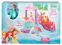 bath toys mermaid - Original Disny Princess Water Palace Bath Playset Little Mermaid Ariel Doll Toys Fashion Princesse Dolls Gifts