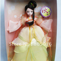 beautiful chinese models - 29CM Tall Kurhn Doll Beautiful Autumn Fairy With Chinese Ancient Costume Clothing Joint Body Model Toy