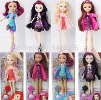 beauty high school - Ever After High school Beautiful Dolls bonecas brinquedos Monster Toys fairy tale Snow White Sleeping beauty queen Kids Gifts