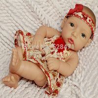 Cheap 10 Inches Full Mini Vinly Reborn Baby Dolls For Sale Baby Alive Newborn Baby Dolls Handmade Lifelike Washing Doll Hot Fashion