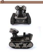 Wholesale SUNCOOL Robot WALL E rc tank HD video Camera wifi Spy Tank for iOS Android iphone Photo Monitor Eavesdrop remote control tank