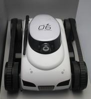 al por mayor rc espía-control remoto del tanque i-Spy App WiFi Spy Tank Mueva la cámara de vídeo con movimiento tanque del rc para el iPhone iPod