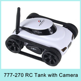Wholesale Mini CH RC Tank Controlled by IPhone iPad Android IOS Device Wifi Remote Control Toys Best Gift For Children