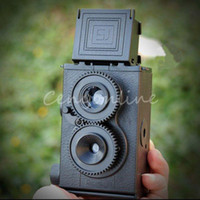 Wholesale Best Price DIY Black Classic Play Hobby Twin Lens Reflex TLR mm Holga for Lomo Camera Kit Outdoor Travel Photograph