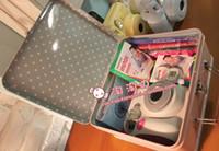 Wholesale Birthday gift fuji polaroid mini7s camera luxury gift box tin set