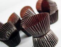 Wholesale Browm tart cake chocolate paper cases cupcake Baking Cups total Diameter is cm box