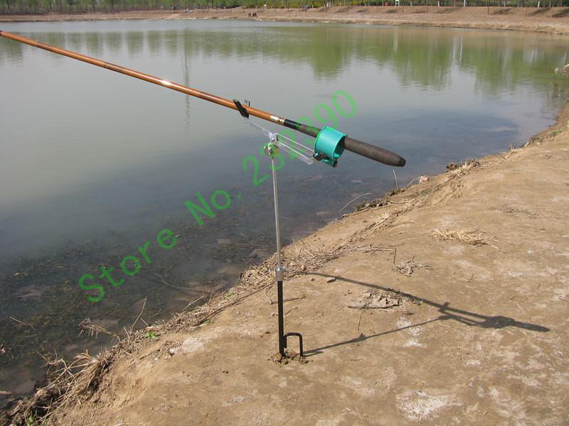 2017 automatic metal fishing rod pod support rod stand for Automatic fishing pole