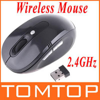 Wholesale RF GHz Portable Optical Wireless Mouse USB Receiver Up To M With Keys C1033B christmas