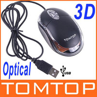Wholesale 100 Positive D Optical USB Mouse Mini Scroll Wheel Mouse Mice For PC Laptop TASJ01 christmas