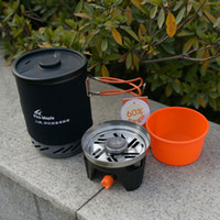 outdoor heating systems - Fire Maple Cooking System Outdoor Camping Heat Collection Pot Stove One Piece Stove amp Pot FMS X1