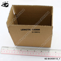 Wholesale 30pcs x80x90MM Small Size Corrugated Cardboard Box Recyclable Packing Paper Box Three Layers