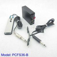 b power cord - Super Mini Tattoo Power Supply amp Power Foot Pedal Clip Cord Tattoo Power Set Supply PCFS36 B