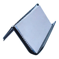 amazing business card - Amazing Stylish Black Steel Mesh Business Card Holder Office Supplies Business Card Racks