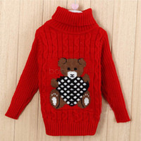 amp computer - Childrens sweaters new autumn winter turtleneck boys amp amp girls knitted sweater baby turtleneck suit age