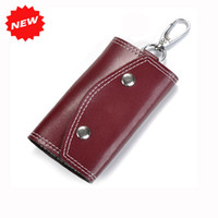ans key - High Quality Fashion Vintage Genuine Leather Lovely Car Key Wallets New Arrival Men amp Womens Key Holders Bag Gifts ANS CL Y006