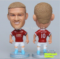Wholesale New amp Hots Season football star dolls amp toy figures of rooney in mu football fan souvenirs amp gifts