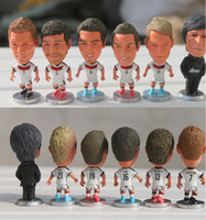 Wholesale Football Star Dolls Football World Cup Germany Team Set Football Fans Souvenirs Perfect Gifts for Children CT043