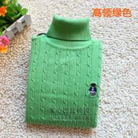 active basic shirts - plus size child basic shirt male child sweater big boy sweater female child round cotton turtleneck