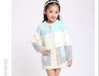 accessories brand names - name brand coats kids Girls Knitted all for kids clothes and accessories wool Cardigan Girls Sweater Outerwear