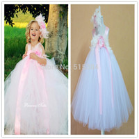 bebe feather dress - retail new year pink feather white handmade tutu bebe girls dress vestido with matched headband