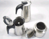 bialetti coffee pot - Bialetti Inoxpran s supplier cup High quality Moka coffee maker Express coffee pot