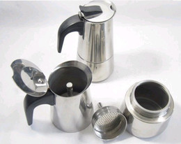 Wholesale Bialetti Inoxpran s supplier cup High quality Moka coffee maker Express coffee pot