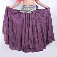 Cheap 10pcs lot Tribal Gypsy Belly Dance Dress Bohemian Skirt Womens Costume Accessories Yoga mixed colors