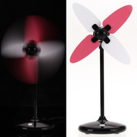 electric fan motor - New Fashinable High Speed Motor Small Electric Mini Fan USB Charge NVIE