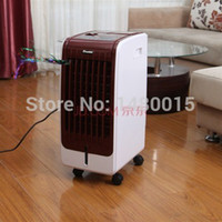 ac heating and cooling - LCD remote control heating and cooling fan air conditioning fan standard wind natural wind