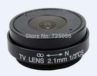 Wholesale 2 mm mm mm IR CS CCTV Lens for CCTV video cameras wide viewing angle CS mount quot format F1 fixed Iris