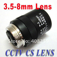 b w ccd camera - 3 mm CS CCTV IR Lens manual Vari Focal fixed Iris for quot and quot CCD color B W Camera