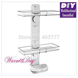 Wholesale New Garbath Bathroom multifunctional assembled suction cup organizer