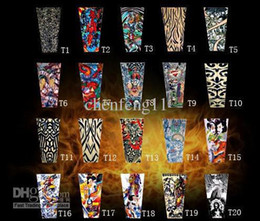 Wholesale 50pcs Mixed Designs Tattoo Arm Sleeves Excellent